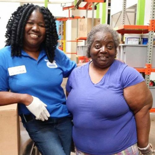 Volunteer at Houston Food Bank - Kim Barnes Henson
